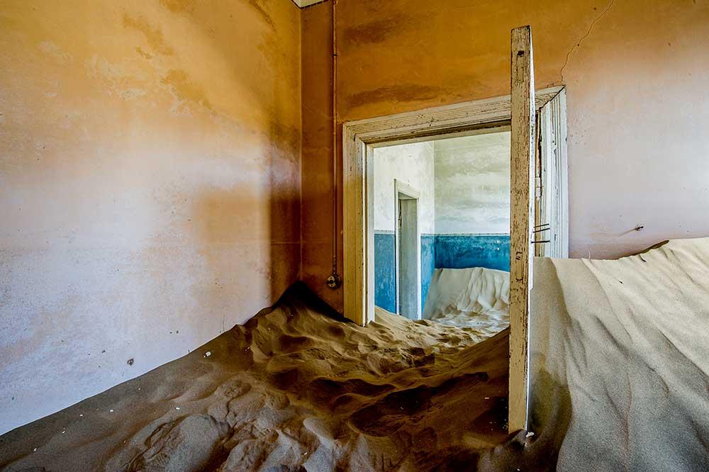 Abandoned Houses, Kolmanskop, Namibia