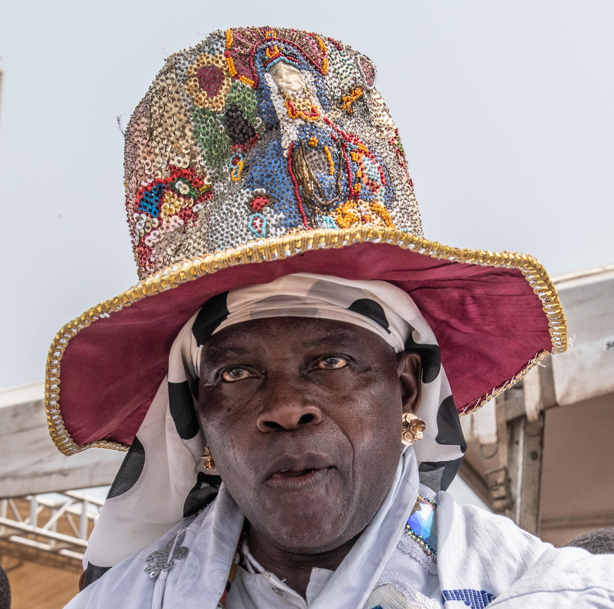 Fetish Priest.2019 Voodoo Festival, Ouidah, Benin