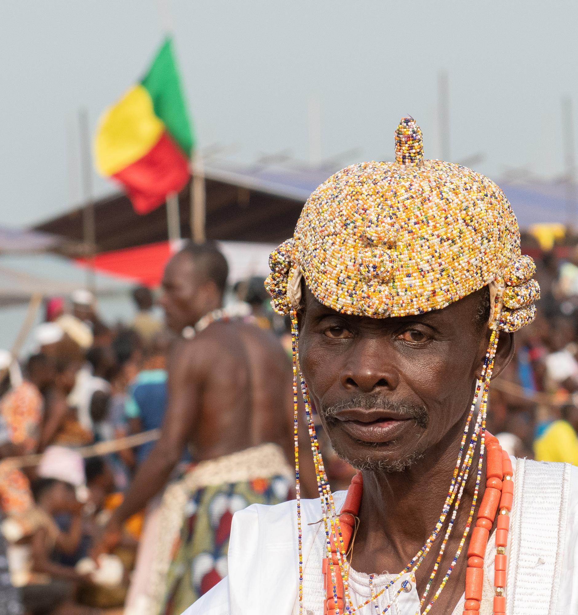 Celebrant. 2019 Voodoo Festival, Ouidah, Benin