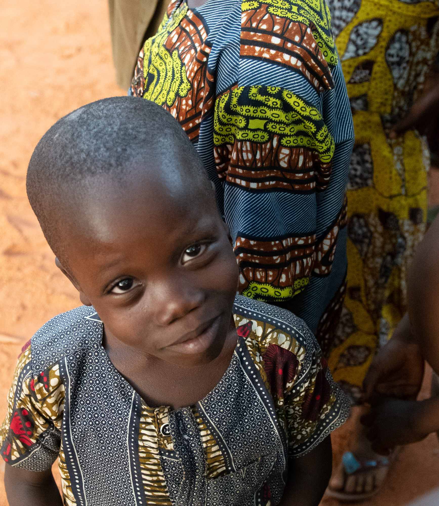 Village Child. Cove, Benin