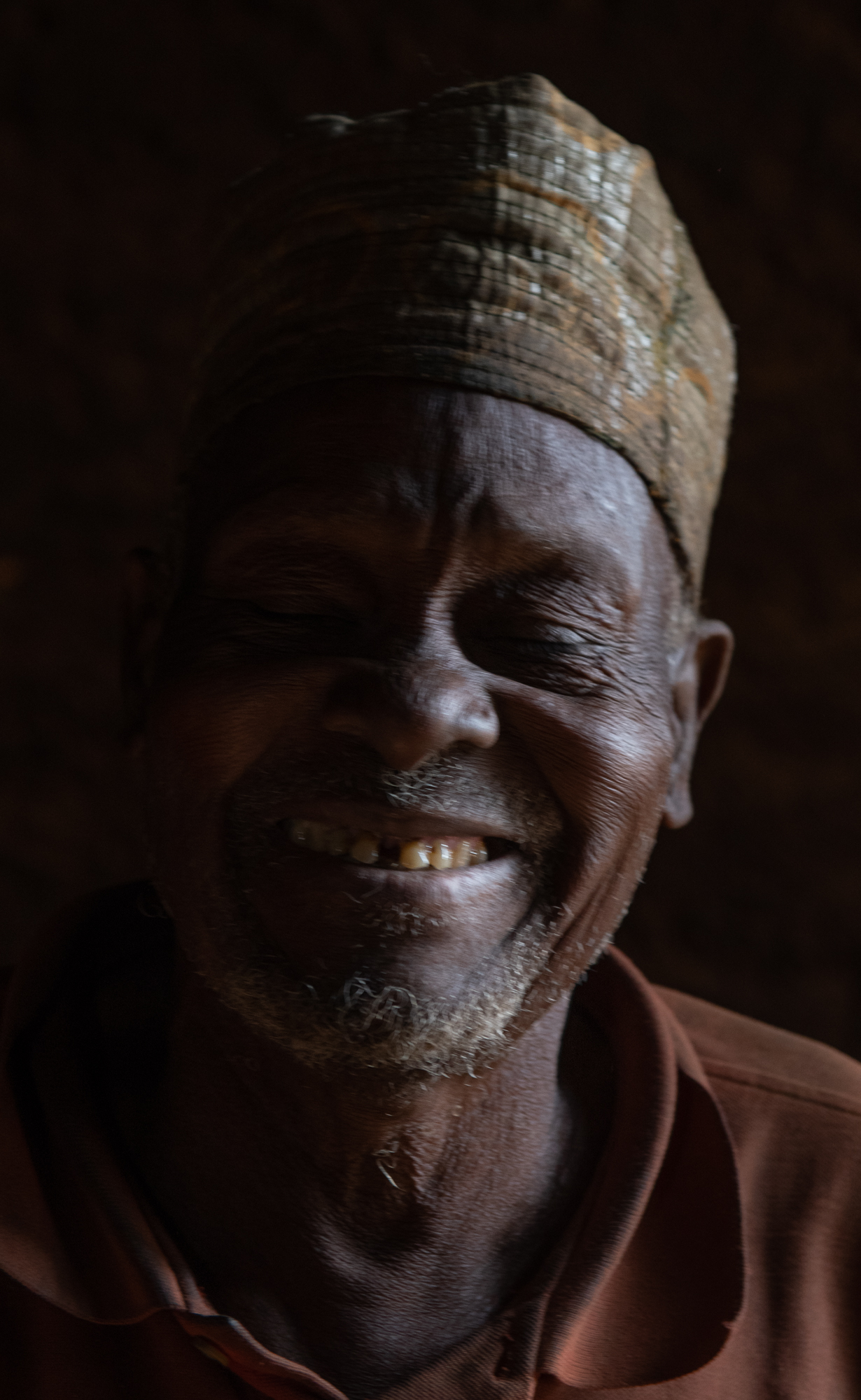 Village Chief. Cove, Benin