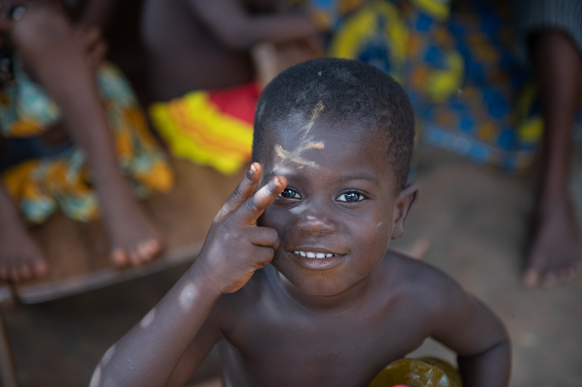 Village Child, Cove, Benin