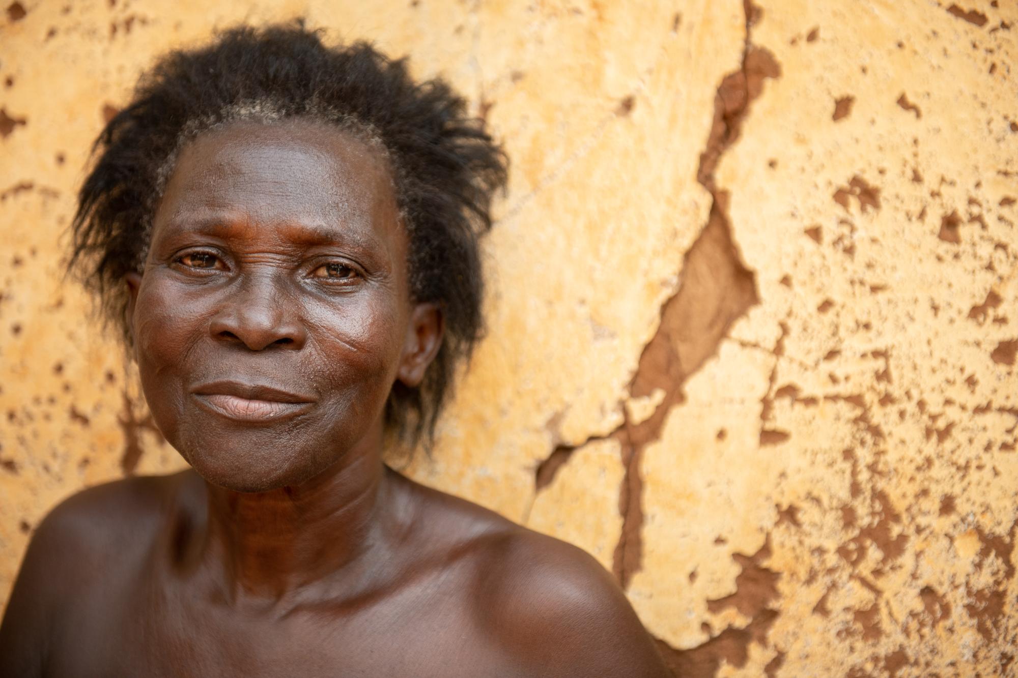 Villager. Amenouvikondji, Togo