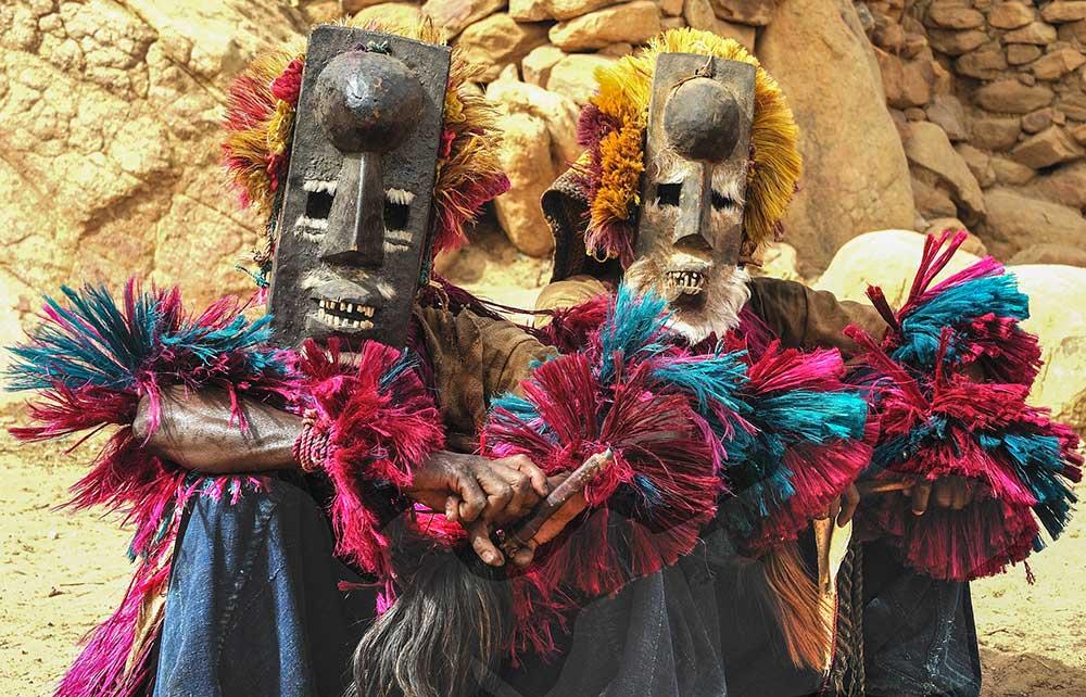 Dogon Dancers, Mali