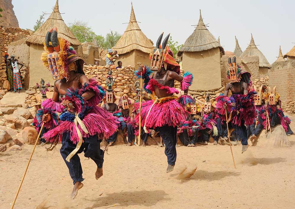Dogon Masked Dance, Mali