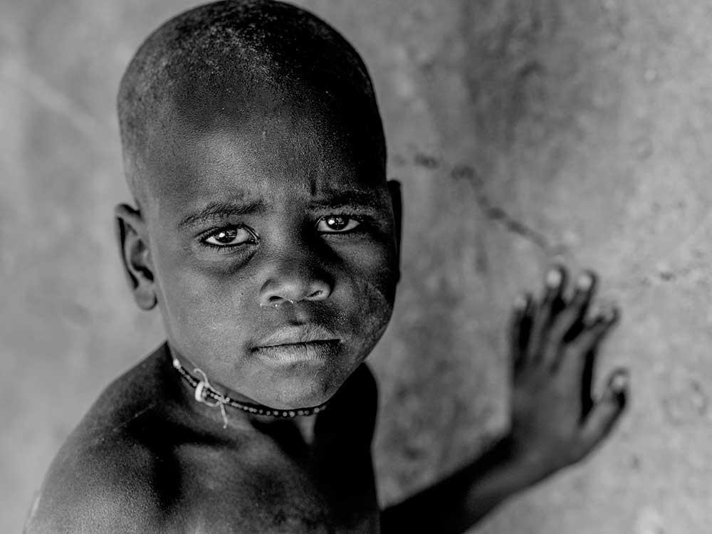 Himba Boy Gazing, Namibia