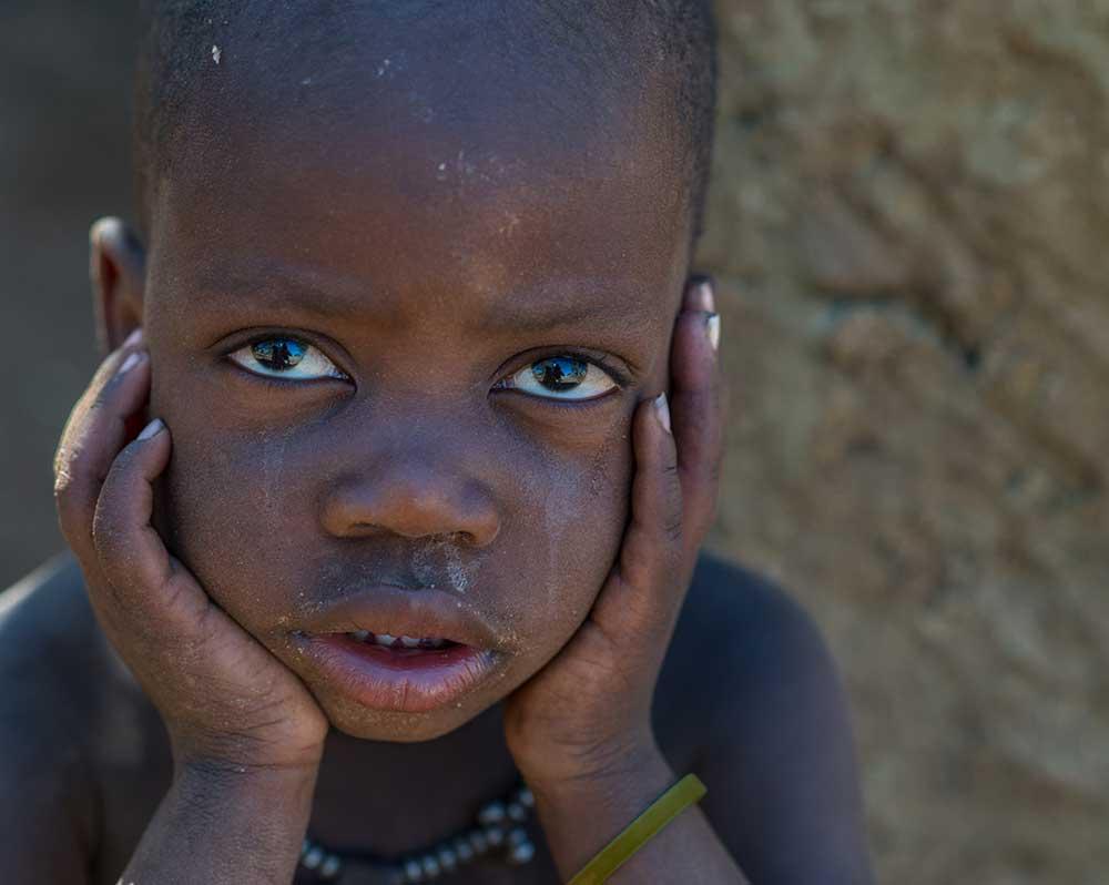 Himba Boy Resting, Namibia