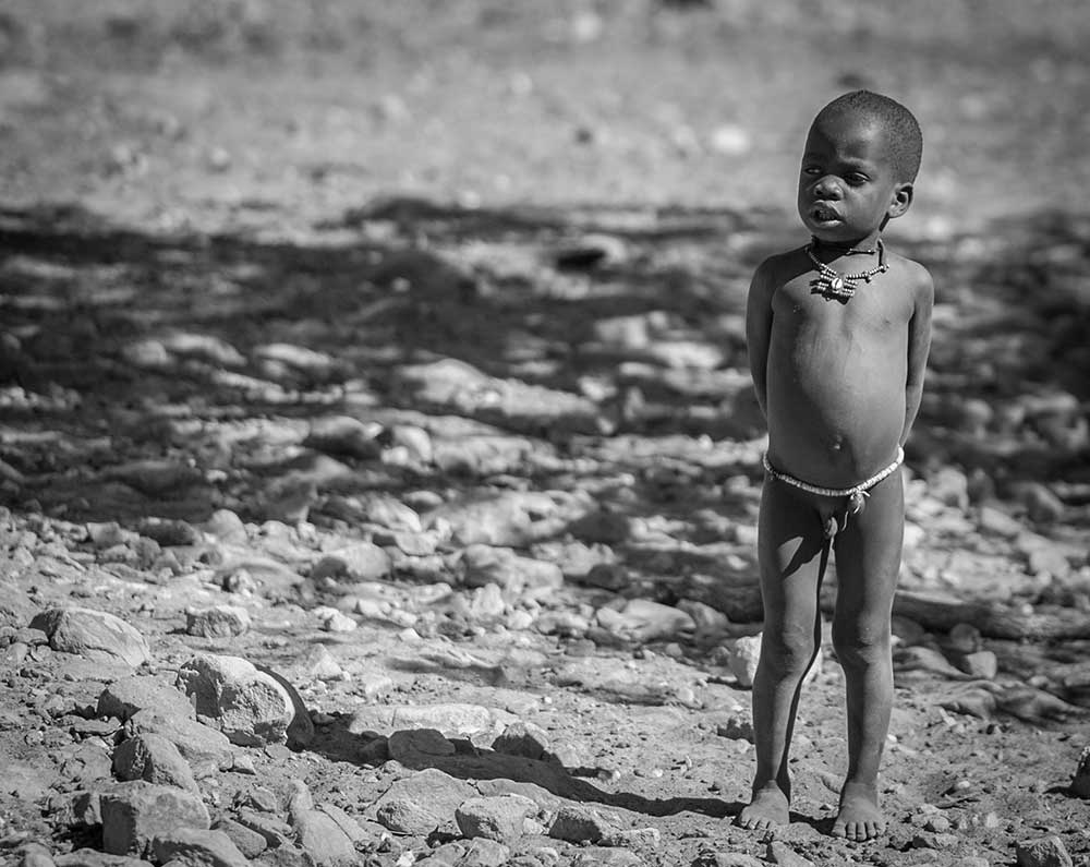 Himba Child, Namibia
