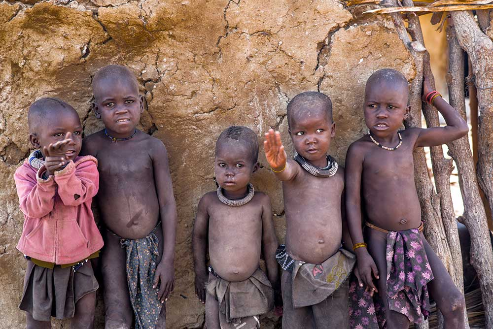 Himba Kids, Children