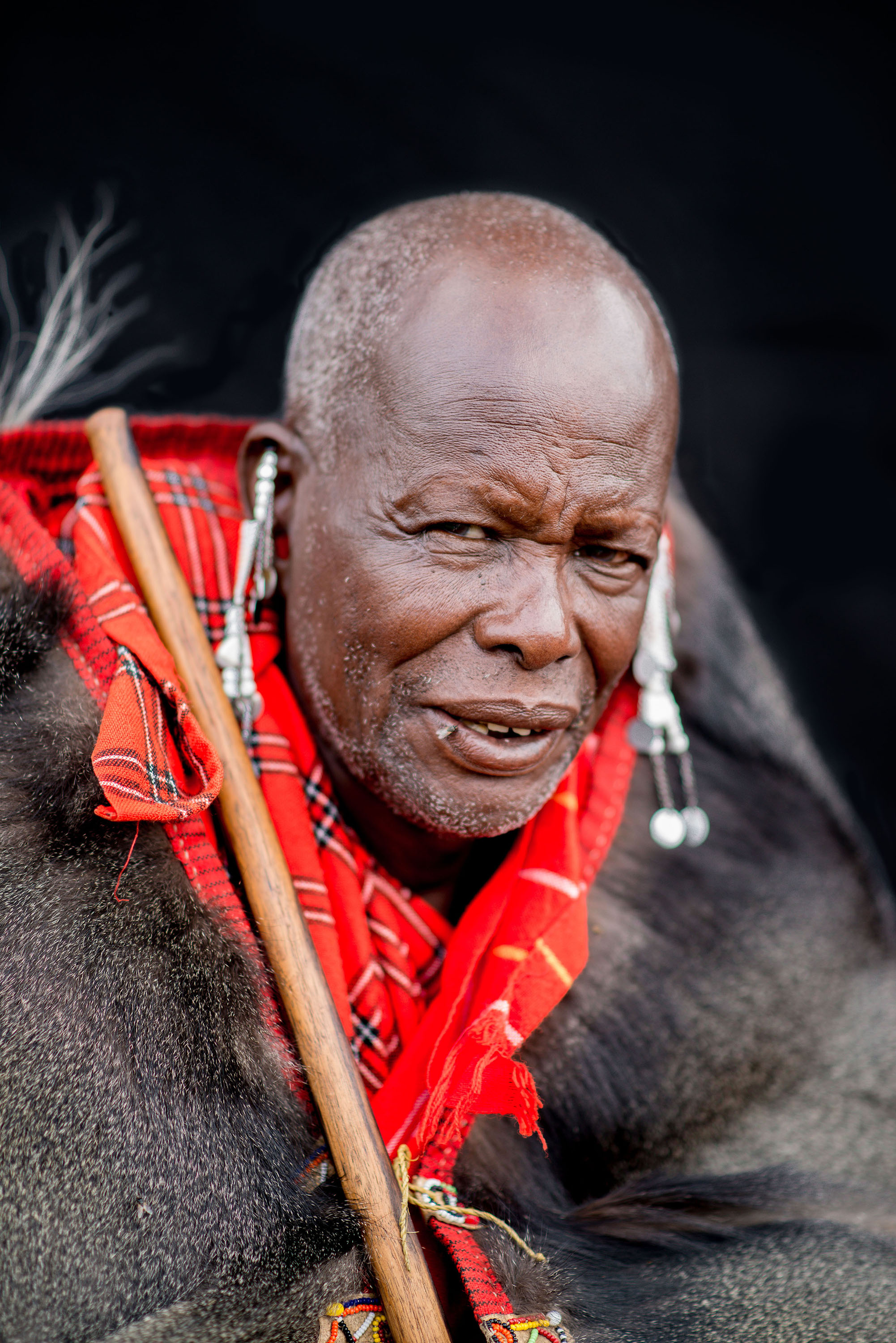 Maasai Chief, Kenya