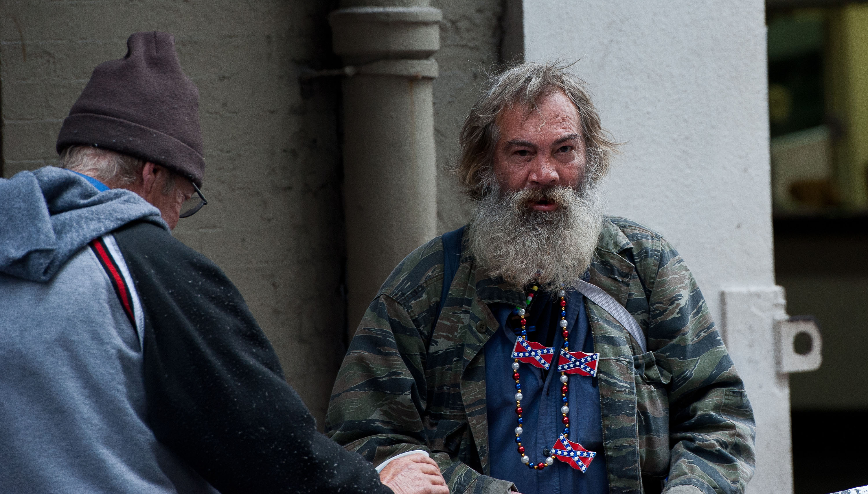 New Orleans Street Man