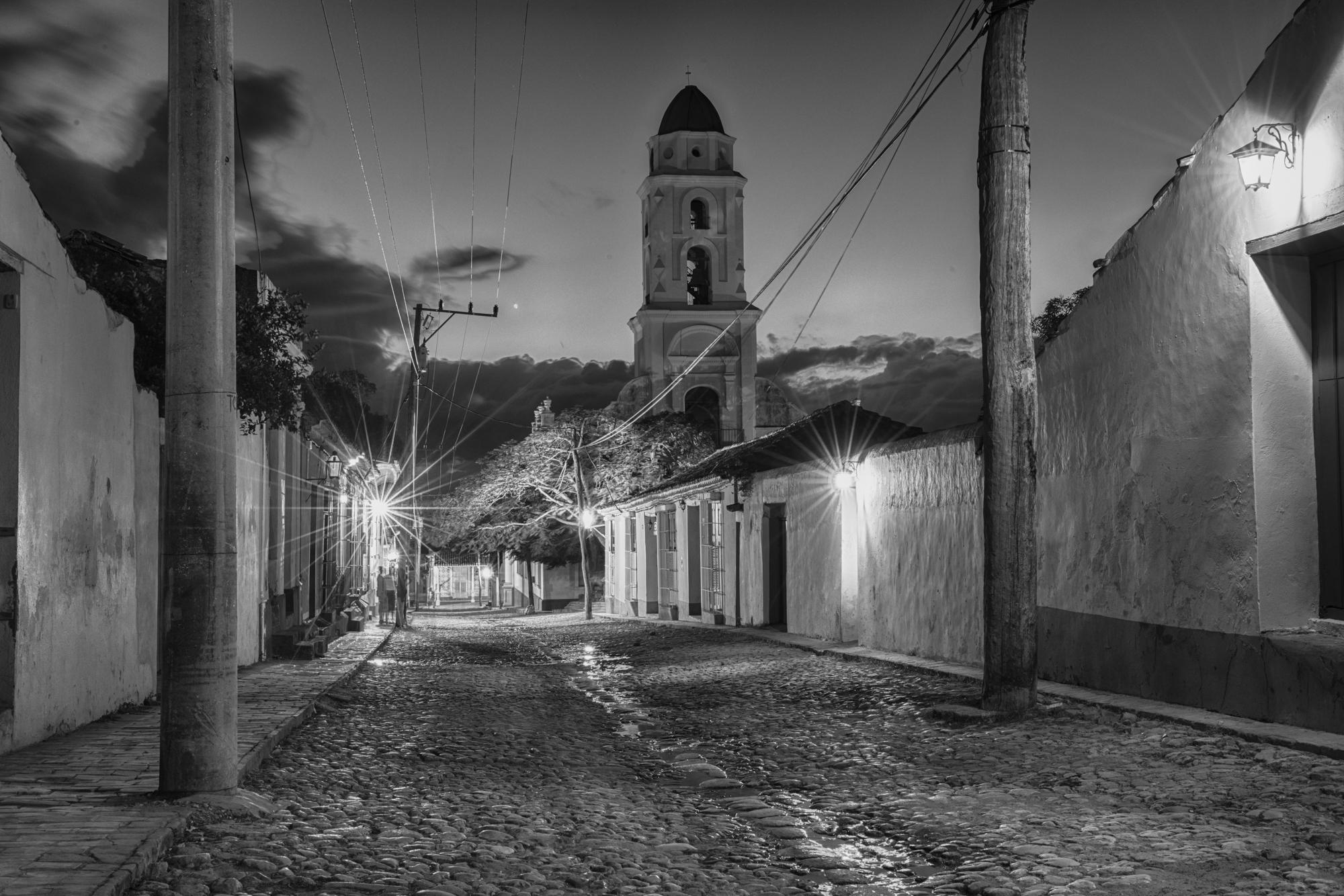 Santiago de Cuba Night Scene