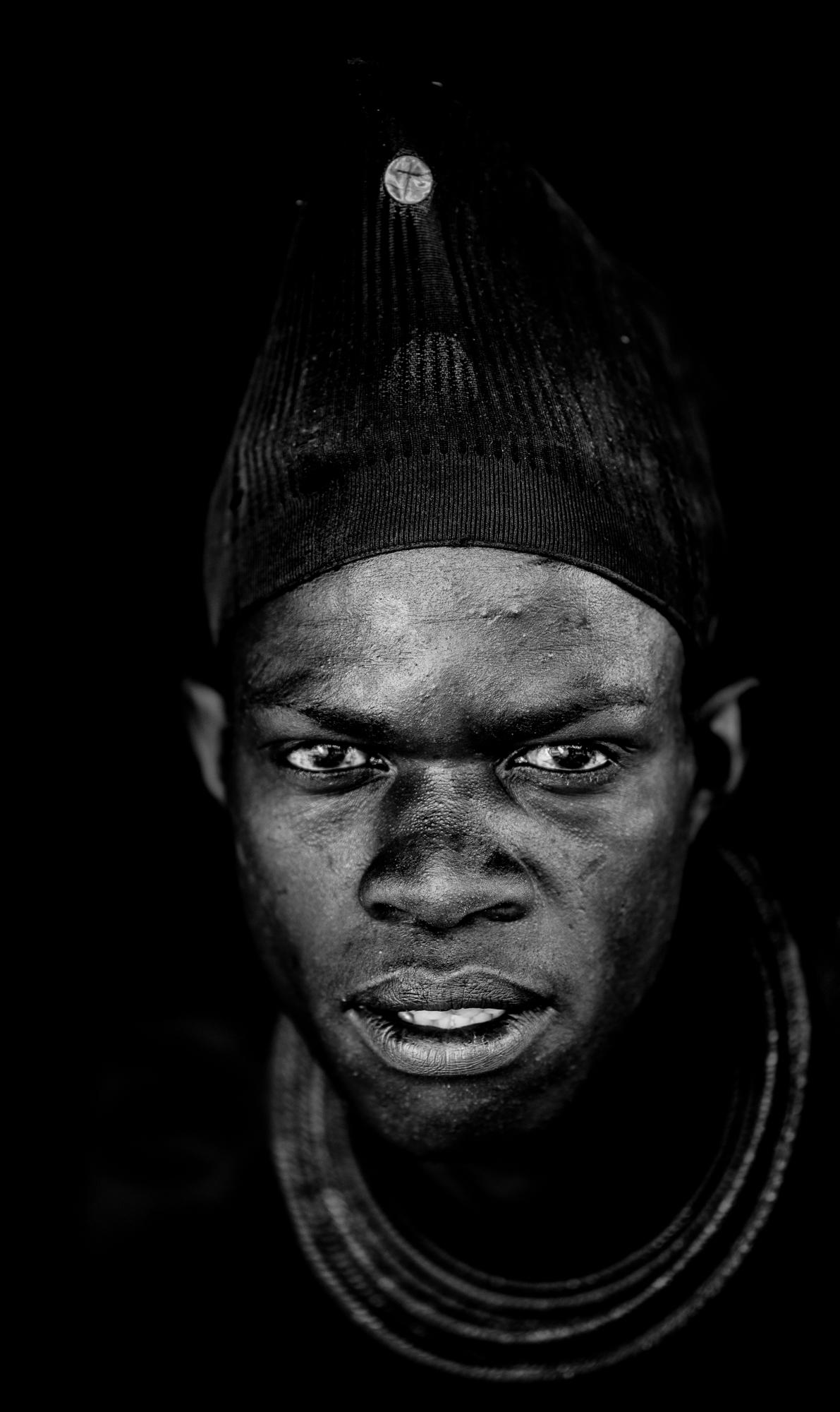 Young Himba Man, Namibia