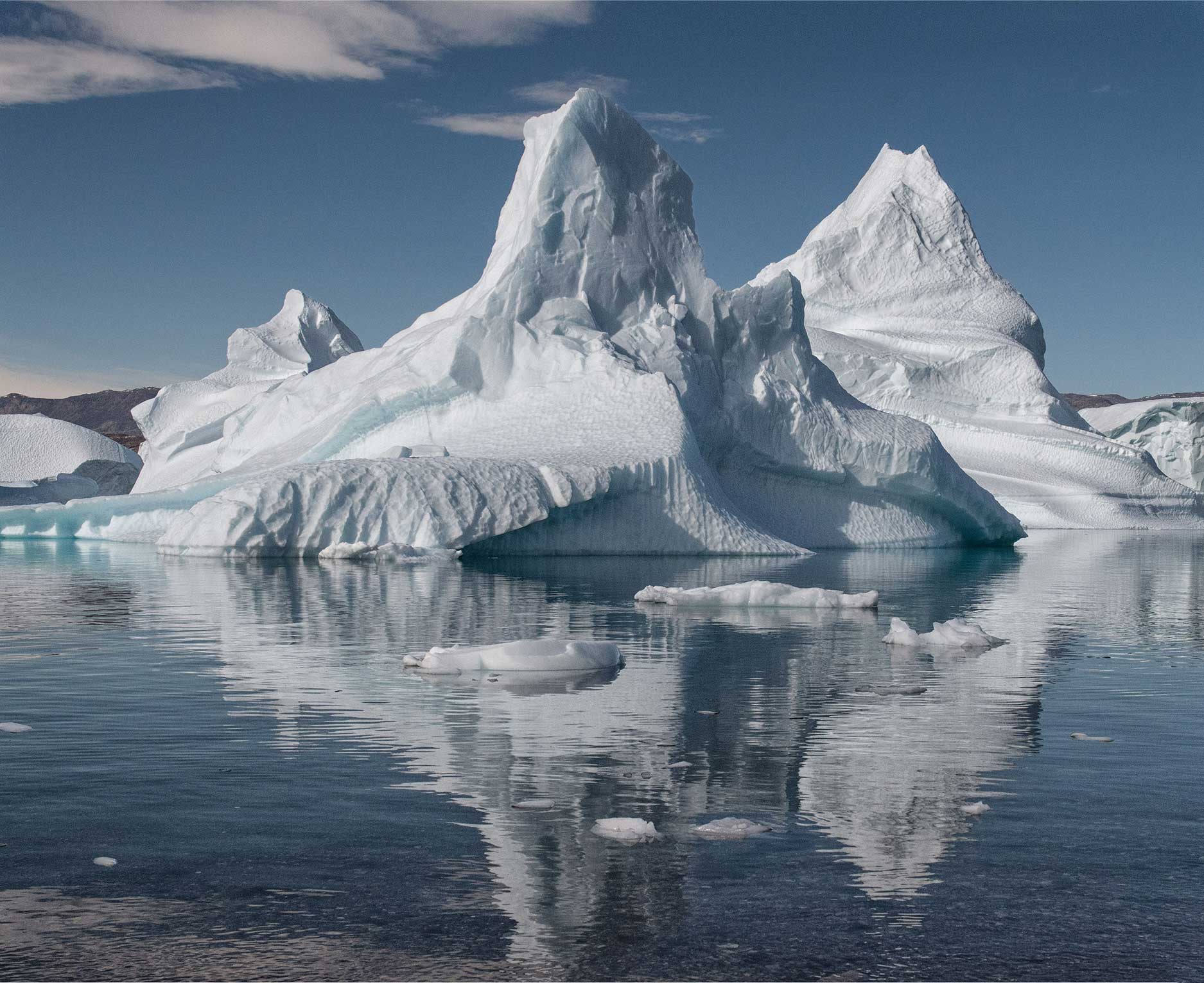 Greenland Ice Sculpture