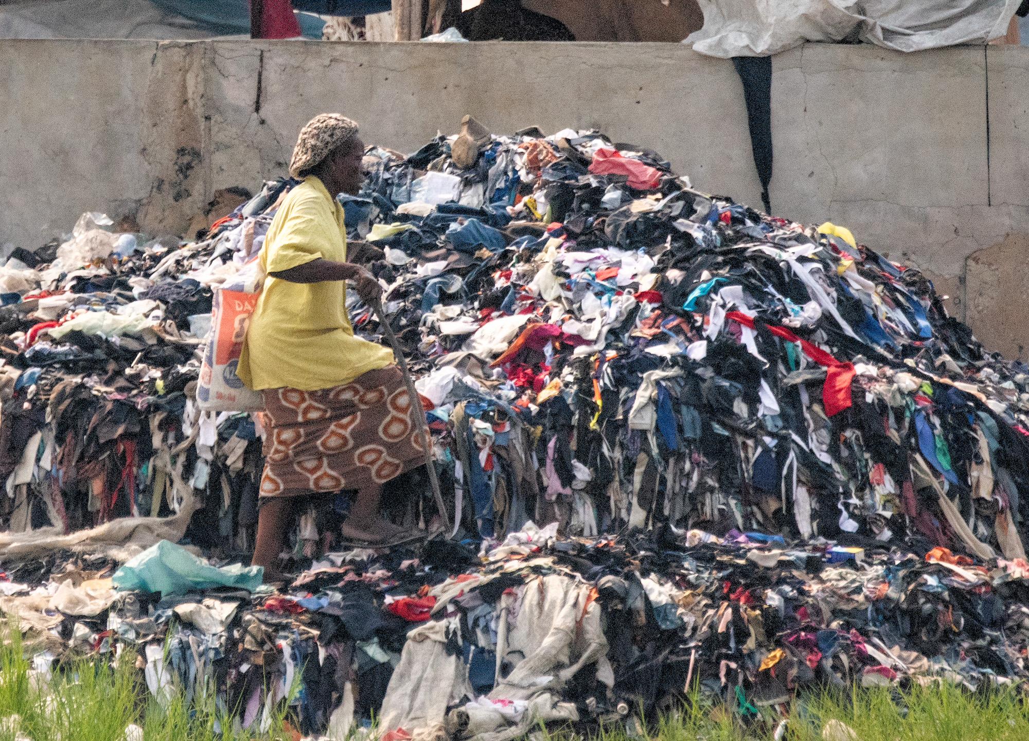 Rag Picker, Cotonou, Benin