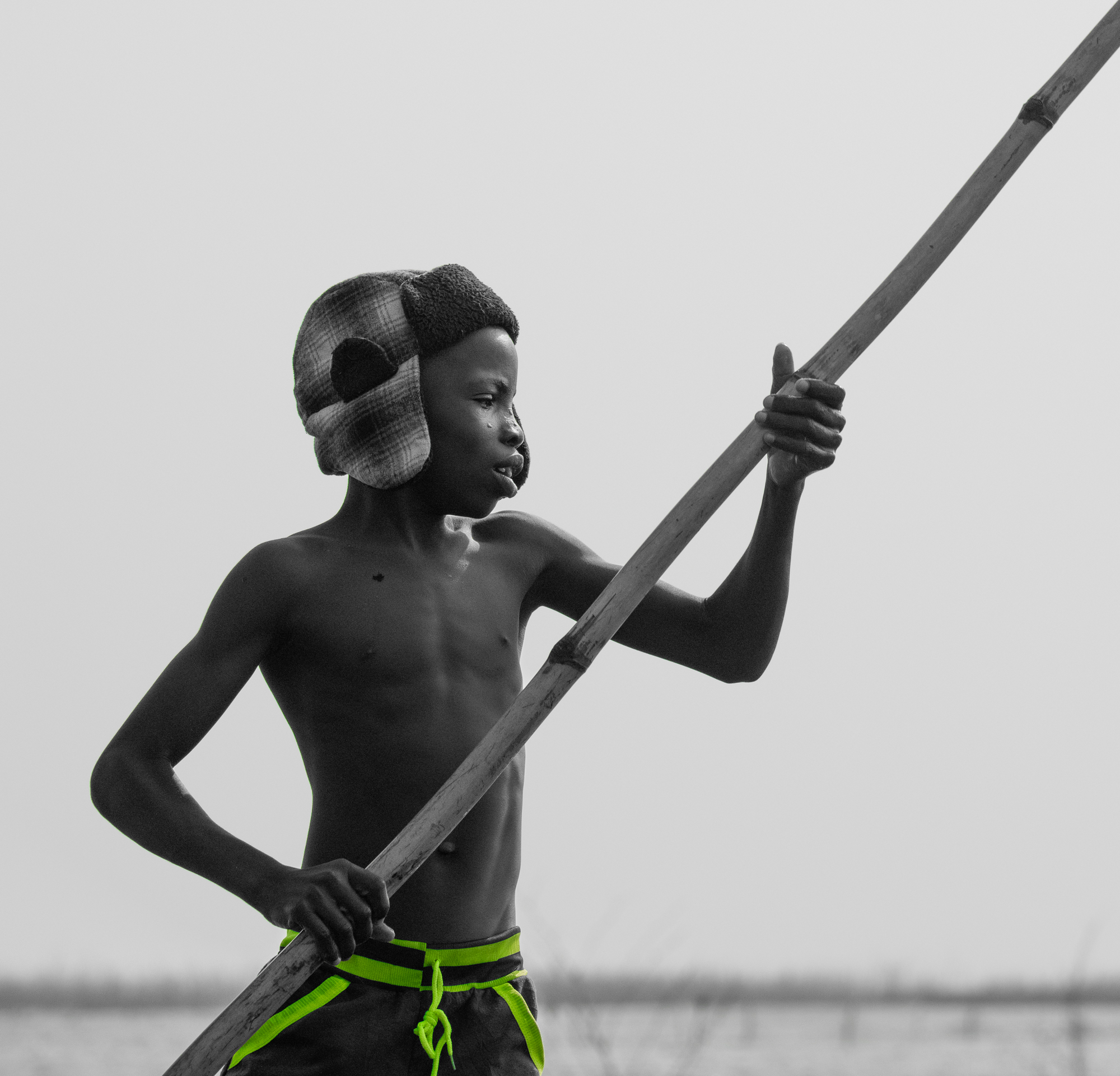 Young Fisherman, Ganvie, Benin