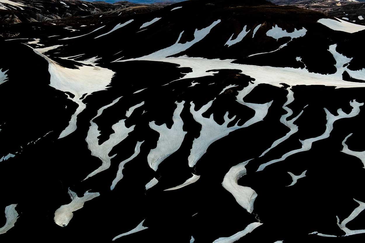 Iceland Snow Streams