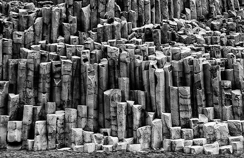 ORGAN PIPES, VIK, ICELAND
