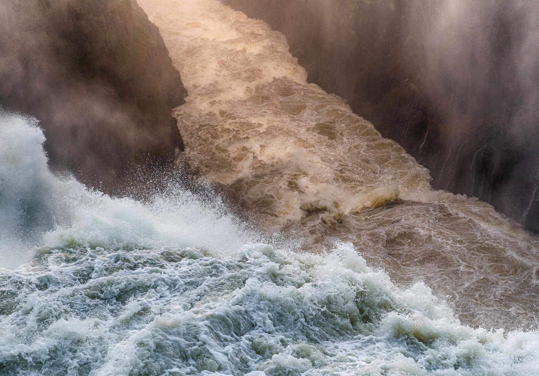 Victoria Falls Texture